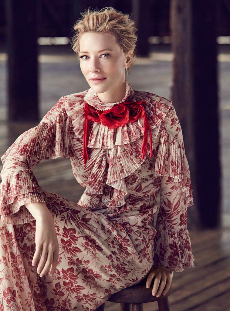 Кейт Бланшетт — Фотосессия для «Vogue» AU 2015 – 8