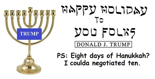 Hanukkah With The Donald