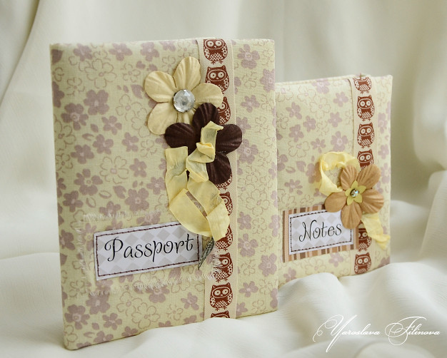 блокнотик и паспорт