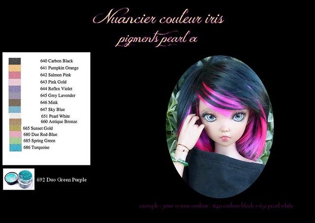 Les 3 Dames ~ Création yeux BJD+eyechips : 14mm petit iris ! 23868986566_011c825365_z