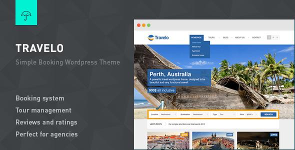 Travelo v3.1 – Responsive Booking WordPress Theme