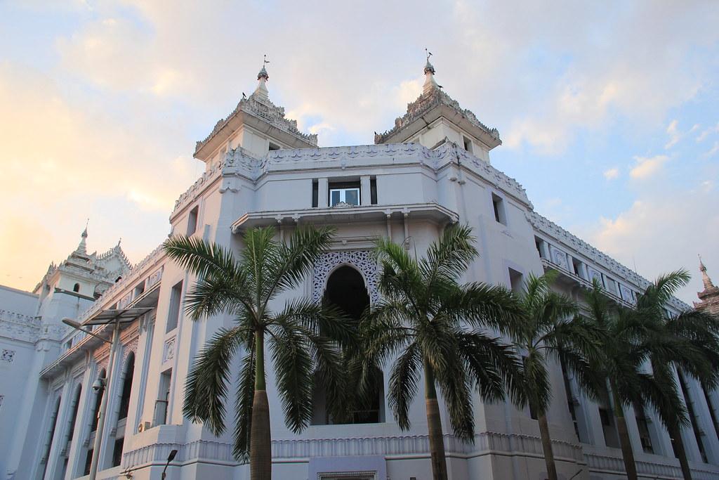 City Hall, Yangon