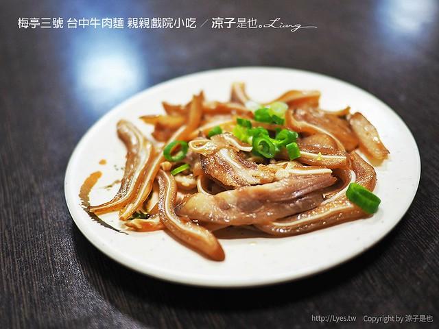 梅亭三號 台中牛肉麵 親親戲院小吃 7