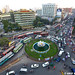 Shapla Square at the Motijheel Commercial area of Dhaka City, Bangladesh. by Arif Ahmed Photography