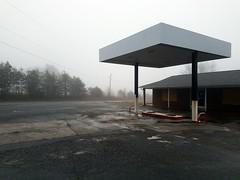 Quaker Gap Country Store.  https://wanderingwondorium.wordpress.com/2017/01/12/the-store/?preview=true  #winter #morning #fog #snow #abandoned #rural #QuakerGap #store