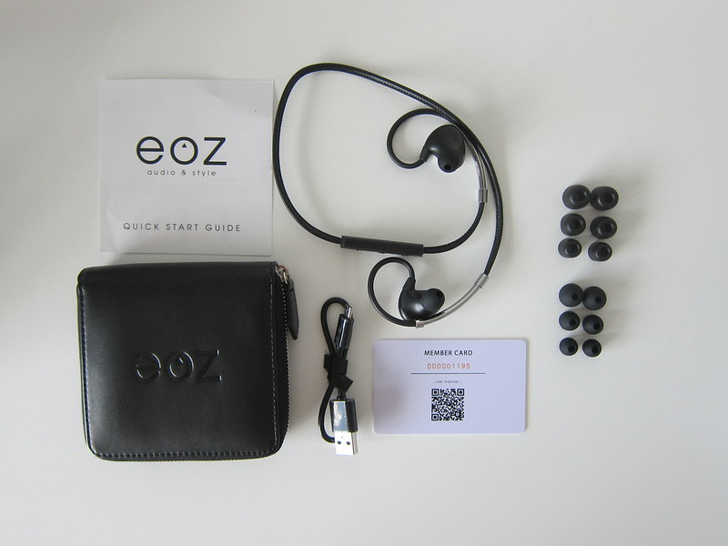 EOZ One - Box Contents