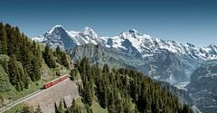 Vysokohorská turistika ve Švýcarsku
