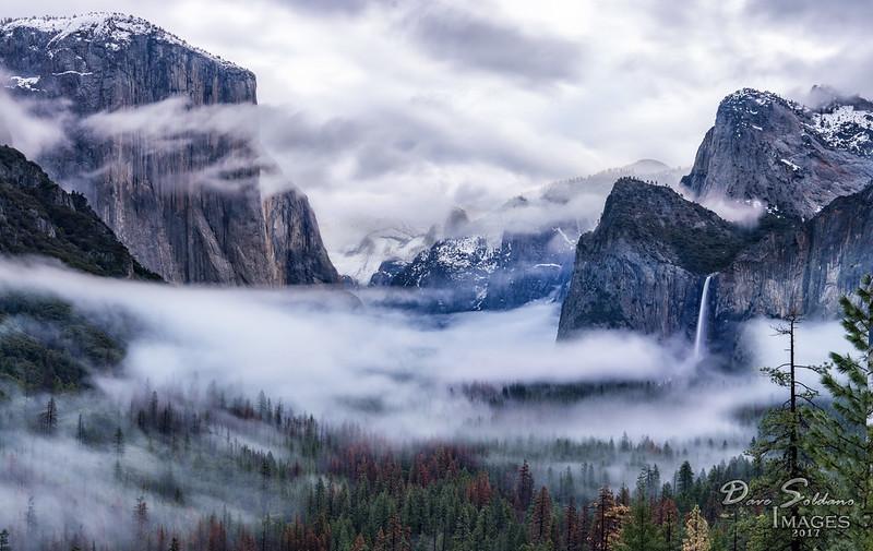 Inversion in Yosemite