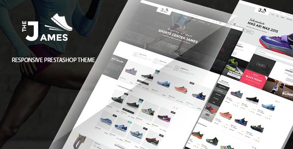 James v1.0 - Responsive Prestashop Shoes Store Theme