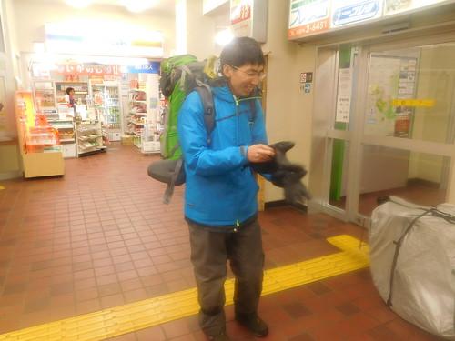 5号にガン萎えした西川さんは輪行で函館へワープ
