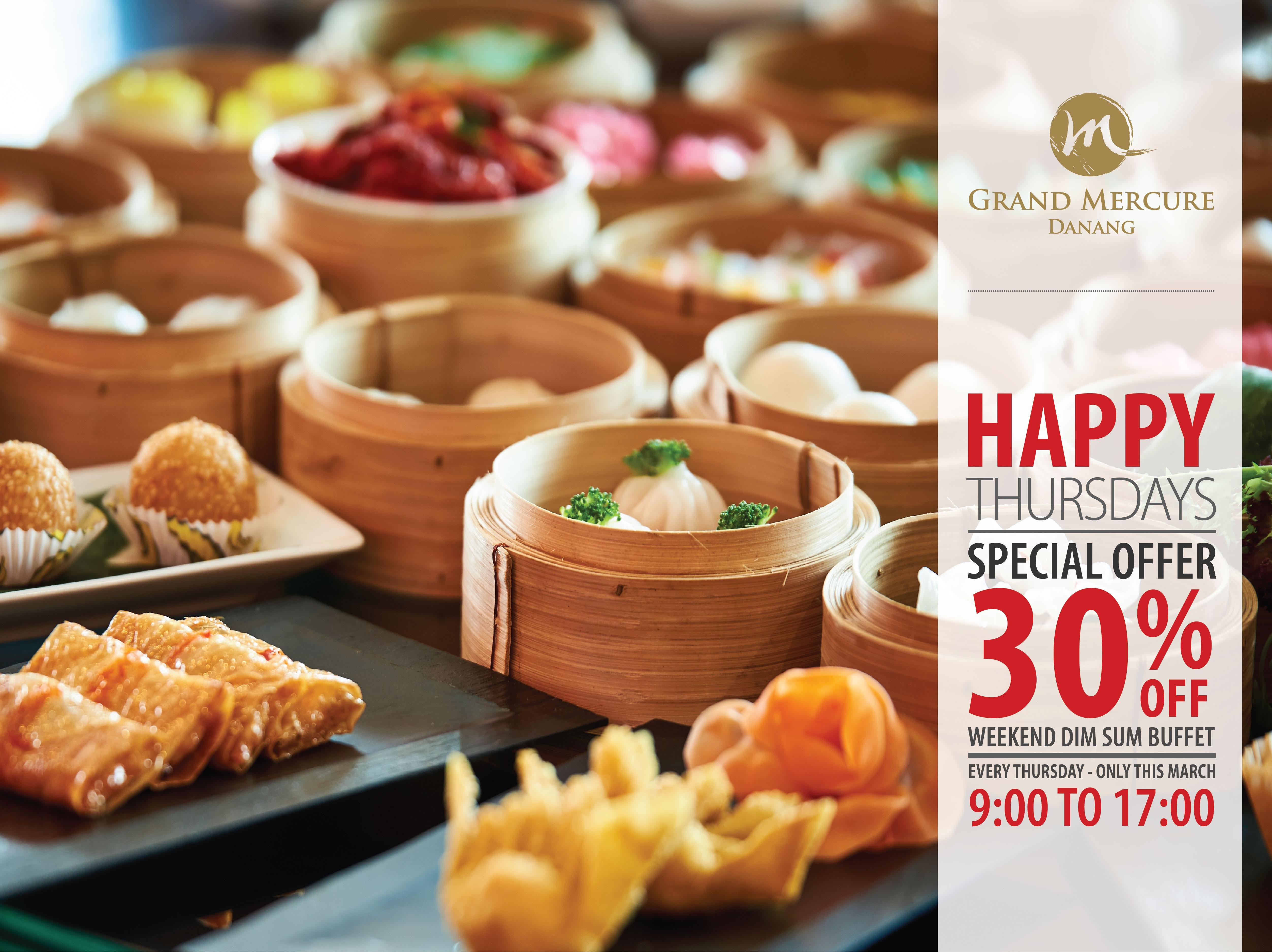 Weekend Dim Sum Buffet - Grand Mercure Danang