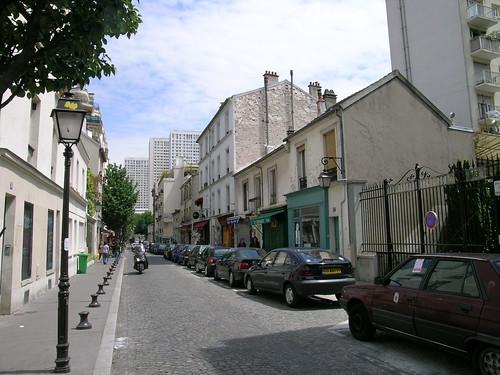 Paris buttes aux cailles 13th rue de la butte aux cailles paris france - Restaurant buttes aux cailles ...