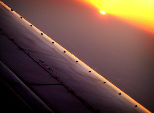 Sunset over Texas
