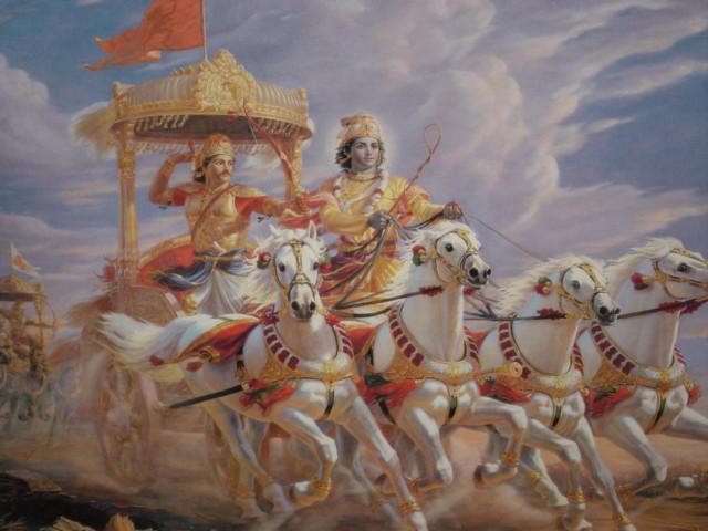 sarva-dharman parityajya  mam ekam saranam vraja  aham tvam sarva-papebhyo  moksayisyami ma sucah
