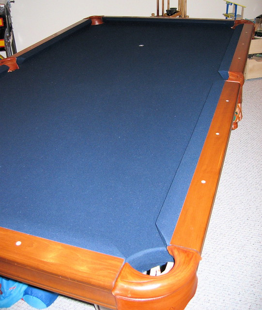 FS/FT - 8' slate pool table