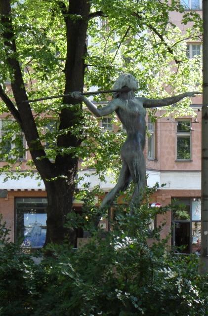 Diana, Kolmiopuisto, Helsinki