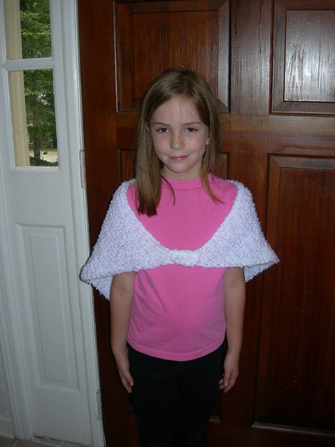 Bailey's knitted shawl #2