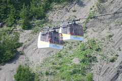 vehicle, transport, terrain, cable car,