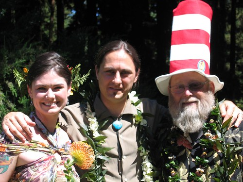 Rachel, Sean & our priest