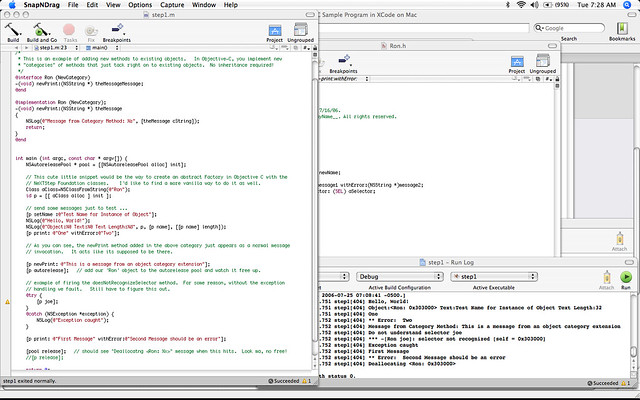 Learn xcode and objective