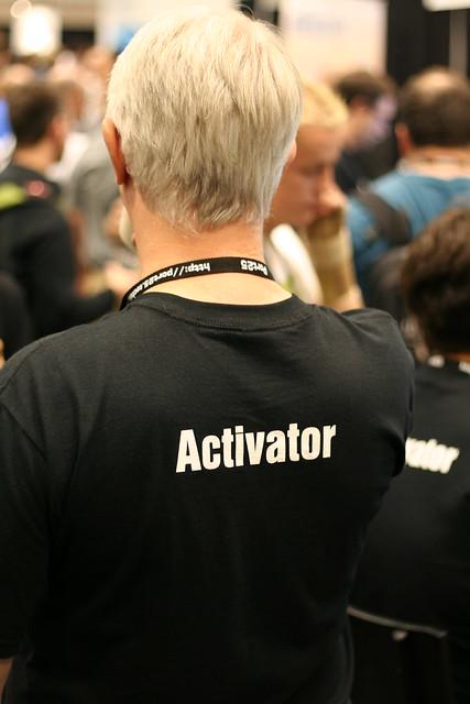Header of activator