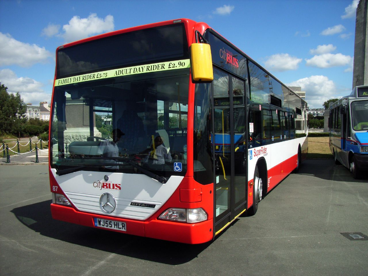 Plymouth Citybus 087 WJ55HLR