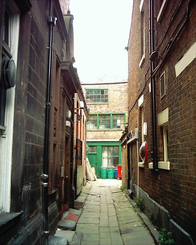Alley in Wigan