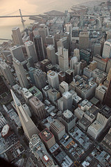 Downtown San Francisco from above