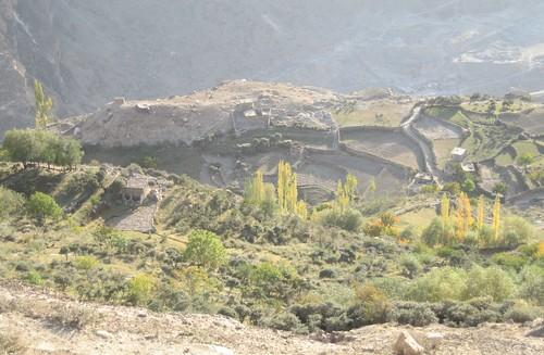 Hilltop settlement, near Duikar, Karimabad