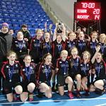 Biggar High School Girls U18 Scottish Champions