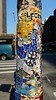 Mosaic lamp post, 8/17/15
