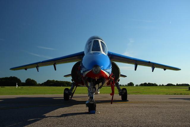 Header of alpha jet