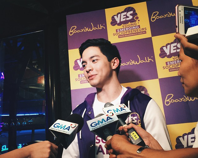 Alden Richards Boardwalk