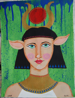Week 34 - Goddess - Hathor