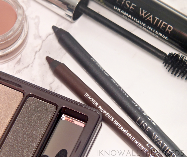 Lise Watier Intense Waterproof Eyeliner Chocolat Intense and Anthracite  (4)