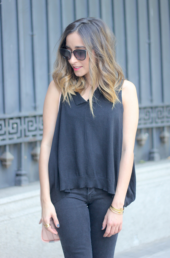 Lace Up Flats Black Jeans Top Hoss Intropia Coach Bag Aristocrazy16