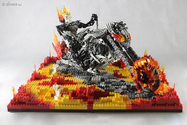 MOC - Ghost Rider