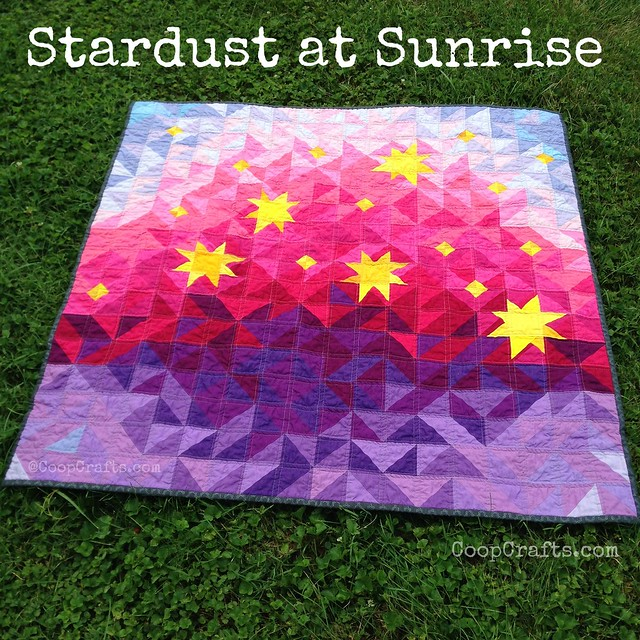 Stardust at Sunrise Quilt