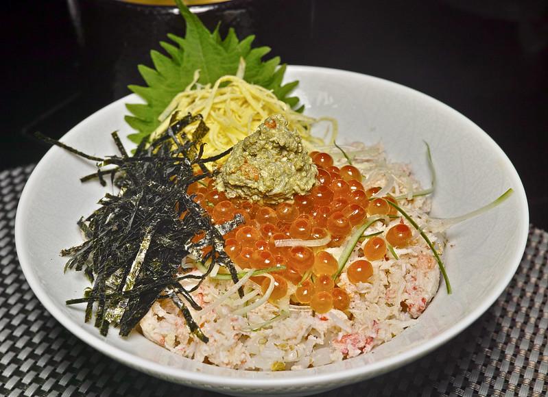 北海道蟹肉蓋飯
