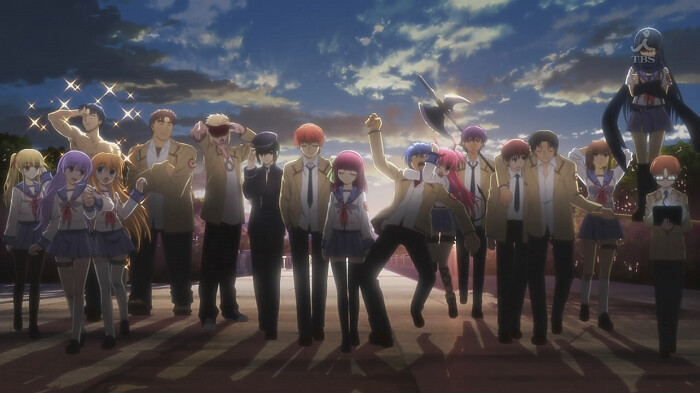 Angel Beats - Sinta as Batidas deste belíssimo anime