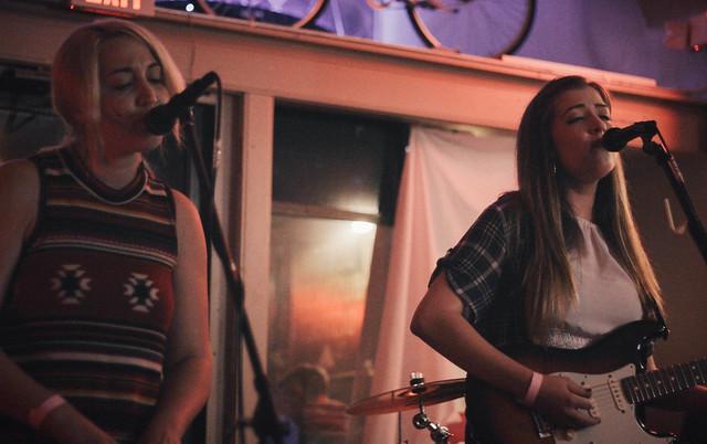 The Hottman Sisters @ Burke's | 9.4.15 | Benson Femme Fest