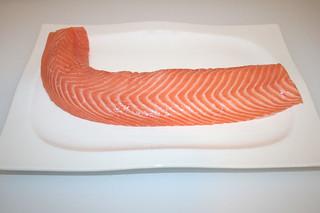 01 - Zutat Lachs Loin / Ingredient salmon loin