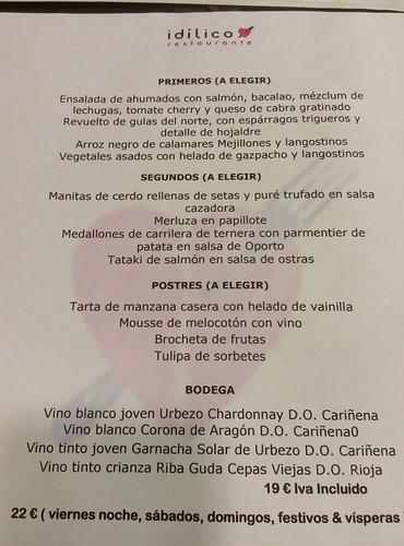 Zaragoza El idilico
