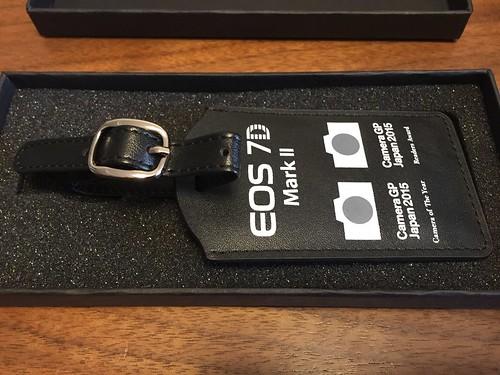 EOS 7D Mark II オリジナルネームタグ 裏面
