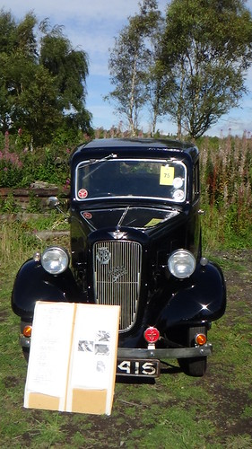 Classic cars at Tanfield Railway Sept 15 (3)