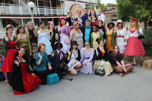 Disneybound group shot