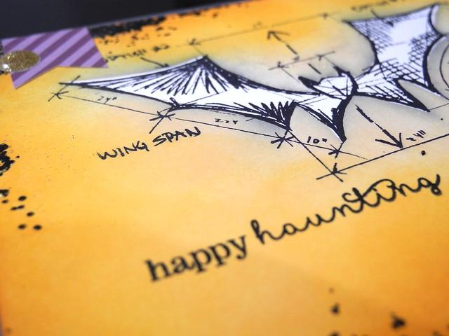 Happy Haunting (detail)
