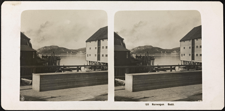 109. Norwegen. Bodø [stereofotografi]