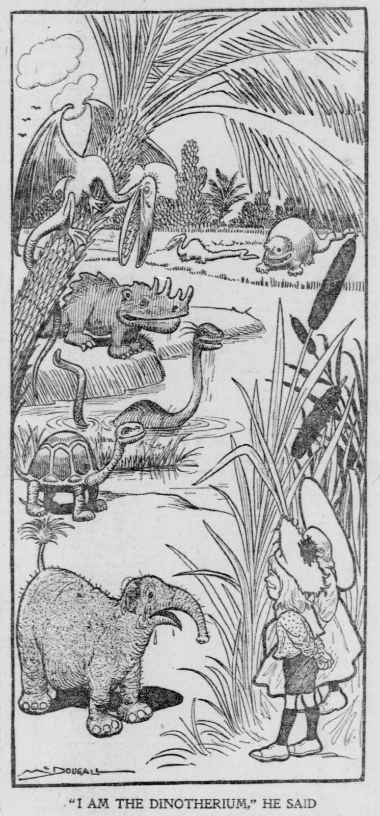 "The Salt Lake herald., March 09, 1902, ""I Am The Dinotherium,"" He Said"