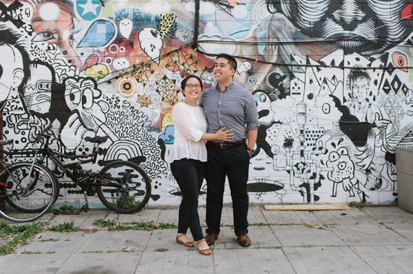 Celine Kim Photography Kensington Market fall engagement session MJ Toronto Wedding Photographer-1